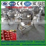 Industrial cooking food fixed / tilting / stirring sandwich pot