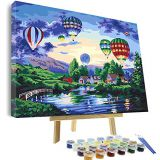 diy digital Painting by Numbers for Adults Kit, DIY Oil Painting P1 30*40