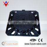 EN124 Heavy Duty Ductile Iron Manhole Cover
