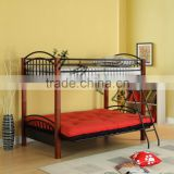 wood post twin futon Bunk Bed