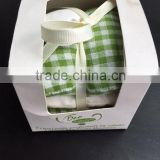 coton material 3pc Scented Sachet With jasmine fragrance