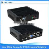 DTKBT19A Quad Core Bay Trail Ultra Thin Dual OS Win Android Mini PC                                                                         Quality Choice