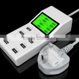 New Arrival Portable 8 Port USB Charger Multi Charger Smart Charging Dock USB for Ipad/Samsung/Iphone