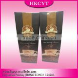 Free sample made in china packaging coffee bean bag with degrassing valve