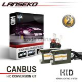 hot sale! h7 xenon hid headlight with Error Free Slim Canbus ballast 35W 12V/24V 55W/75w