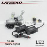 Newest led car headlight 6500K super brightest H4 high lumen led car light bulb                                                                         Quality Choice