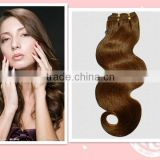 double drawn tangle free spanish wave human hair extension weft