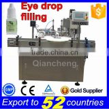 Gold supplier PLC controlled Automatic eye drop filling machine,Peristaltic pump filling machine