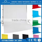 New design photography backdrops 3x6m pure cotton blue screen backdrop wedding/photo studio backgrounds