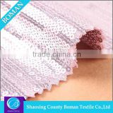 Textile fabric supplier Top selling Wholesale Polyester sequin beaded embroidery fabric