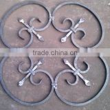 decorative wrought iron steel scroll panels for iron fence/gate/baluster
