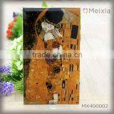 MX400002 kiss klimt masterpiece framed painting reproduction silk screen printing