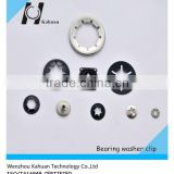 65Mn black anodize bearing washer clip