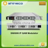 CATV Digital Headend IP QAM Modulator/IP To RF Modulator                                                                         Quality Choice