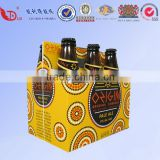 Custom 6/12/24 pack cardboard beer bottle box for packaging