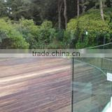 tempered outdoor glass guard fence panels with EN12150, AS/NZS2208:1996, BS62061981
