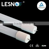High brightness glass tube 4ft 1.2m led tube 8 with rotating light base lamps for home