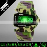 oem jelly army sports watches silicone