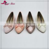 SSK16-291 China women lady casual shoe factory ; latest designs shoes for woman shoe ; fashion ladies pointed toe shoes