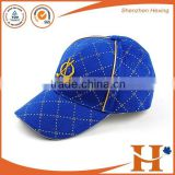 Custom embroidery brand Men's classic golf caps and hats with 100% cotton