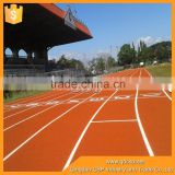 synthetic rubber running track material for stadium