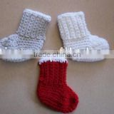 2012 New Winter Fashionable Crochet Baby's Booties