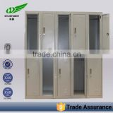 Lockable 10 door metal classroom cabinet