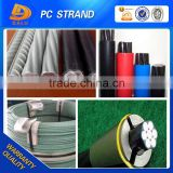 Anti-corrosion Epoxy Coated PC Steel Strand