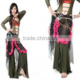 SWEGAL Belly dance Costume tribal belly dance hip scarf,tribal belly dance hip scarf SGBDW120022