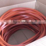 Rectangle rubber solid cord 2mm-10mm