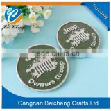 round botton metal badge/ zinc alloy botton tag with sticker/ adhasive sticker for the back as decoration wall streets