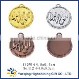112# Cheap gold silver bronze sports factory directly sale metal medallion craft badge award bowling medal