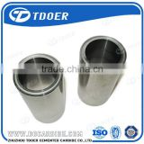 High efficiency tungsten carbide sleeve bushing carbide sleeve bushing
