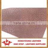 litchi grain 100% pu leather for making vintage leather sofa and leather recliner sofa