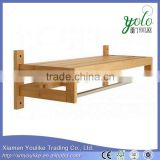 Decorative bathroom wooden bathroom Bamboo Standing Towel Racks                                                                         Quality Choice