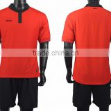 Red Mens Blank Soccer Jerseys Youth Football Jersey