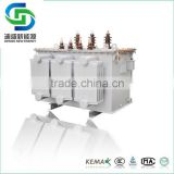 11KV 22kv 33KV three phase electrical toroidal oil immersed power distribution transformer with good price
