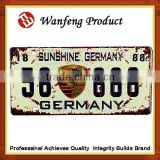 Global use Blank Number Plate / European License Plate / Car Number Plate