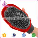 Pet Grooming Glove Hair Remover Bath Brush for Shedding                                                                         Quality Choice