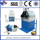 profile rolling machine hydraulic bender steel pipe rolling machine stainless steel rolling pipe bending