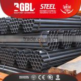 various dimater ASTM, BS, ASTM A53M-2007, BS 1387 round hollow section ms weled steel pipe price per meter