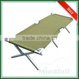OEM Wholesale 600D Outdoor Portable Folding Aluminum Cots