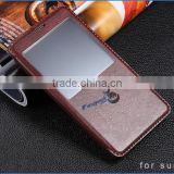 mobile accessories!cheap mobile phone case for samsung case ,leather cover for samsung N9100 with stand