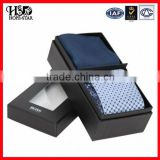 Display Hot Sale Tie packing box,Luxury Necktie Packaging cardboard Box with blister insert