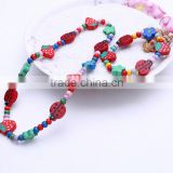 Wholesale Handmade Custom Children DIY Jewelry Acrylic Charm Necklace Bracelet Jewelry Set