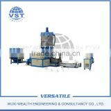 Pelleting plastic line/ plastic pelletizer pp pe /eps recycling plastic pelletizing extrusion line