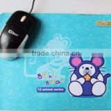 Natural Silicone rubber custom mouse pad / Gaming mouse pad with Different Sizes Designs