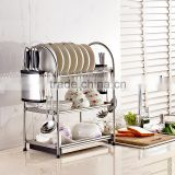 metal Kitchen utensil drying rack