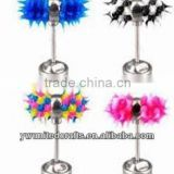 Vibrating Tongue Ring Body Piercing Jewelry