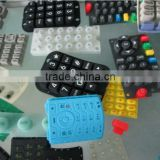 keypads for medical equipment conductive carbon pills spray laser back-lighted good silicon keypads